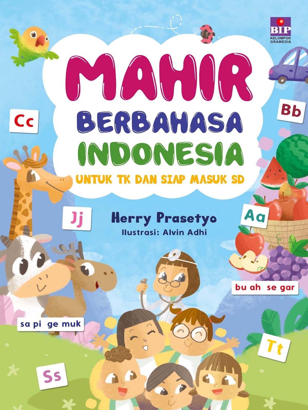 Buku ini melatih anak untuk mahir berbahasa Indonesia Mahir dalam hal membaca berbicara yang diarahkan untuk bercerita dan mahir menulis kalimat dan