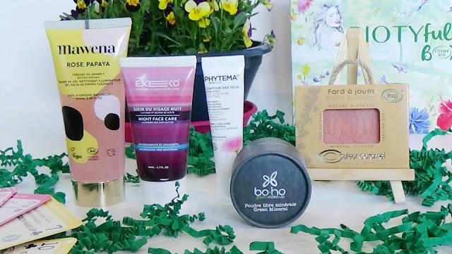 Biotyfull Box d'Avril 2019 - La 100% Cosmébio