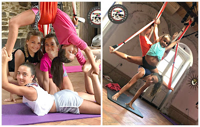 aero yoga kids niños
