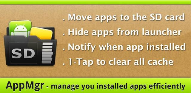 تحميل تطبيق AppMgr Pro III,