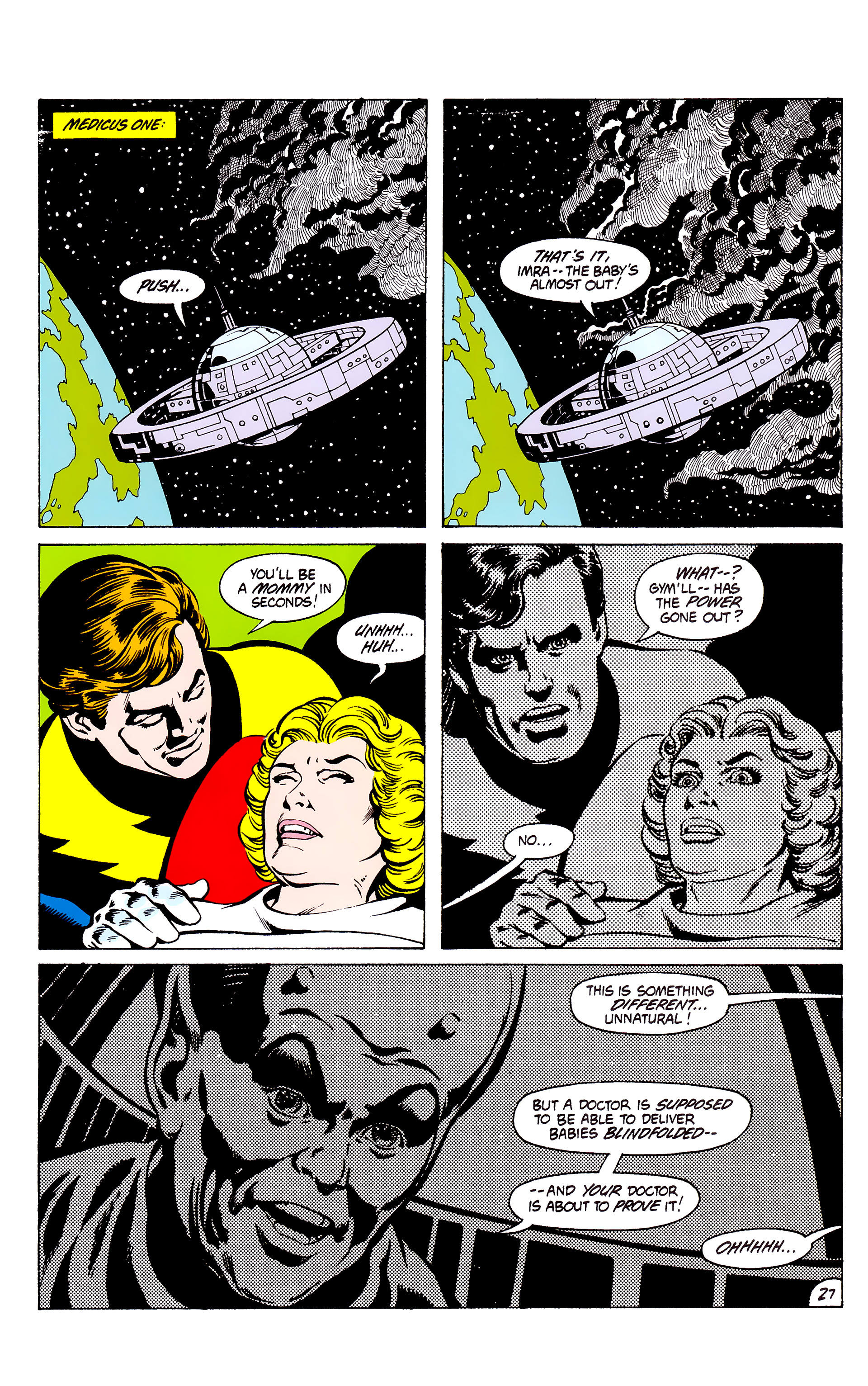 Legion of Super-Heroes (1980) _Annual_3 Page 27