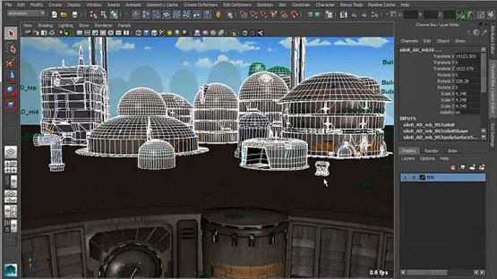 Auto Desk Maya 2014 screenshot 4