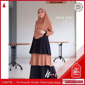 Jual RRJ042D99 Dress Muslim Syari Wanita Zara Wd Terbaru BMGShop