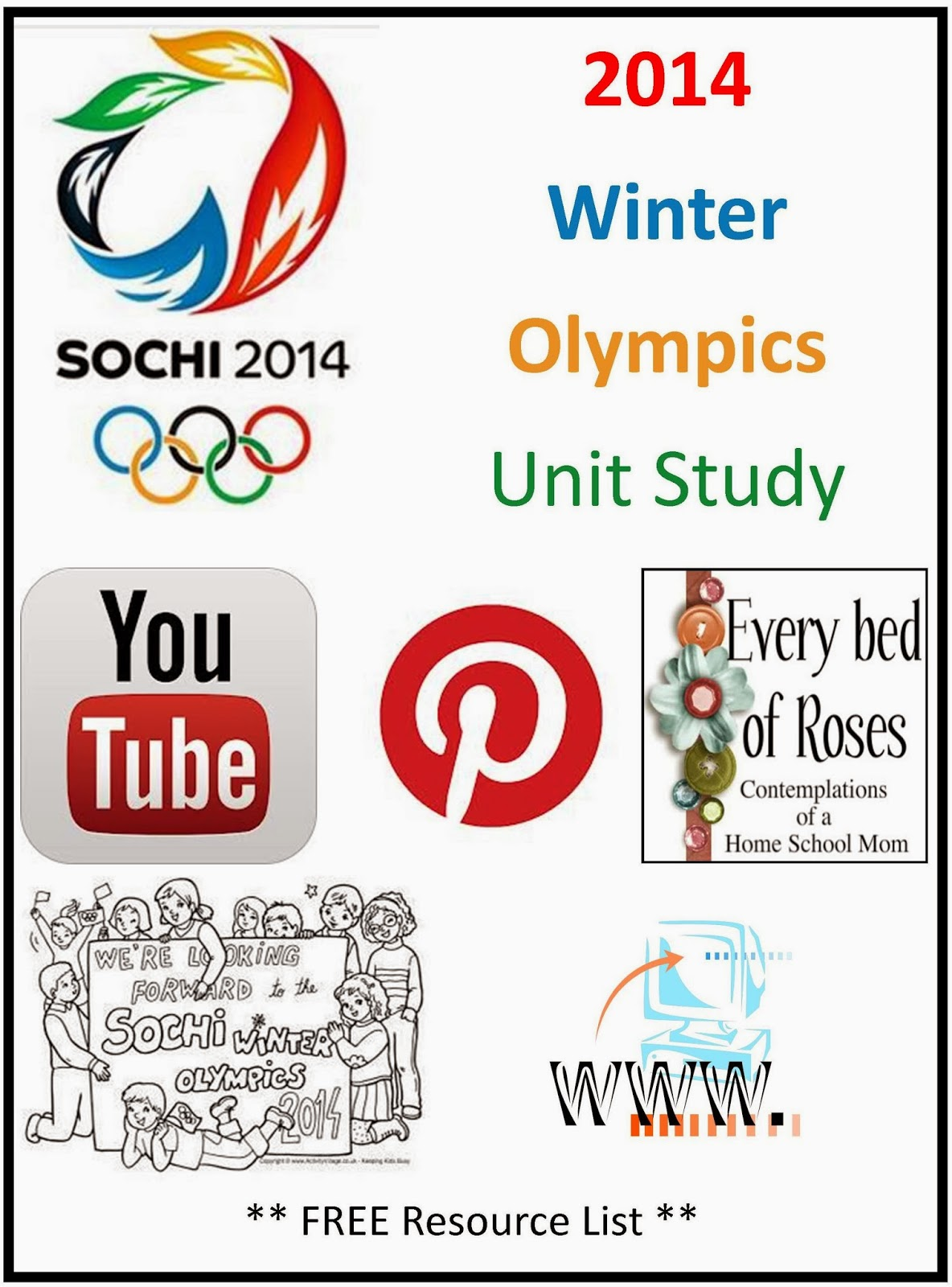 Every Bed Of Roses Winter Olympics Unit Study Resources