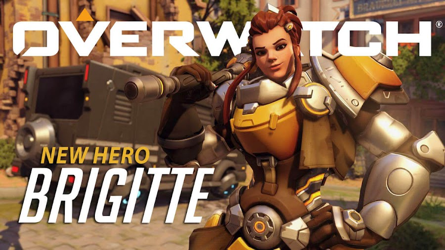 overwatch support hero brigitte