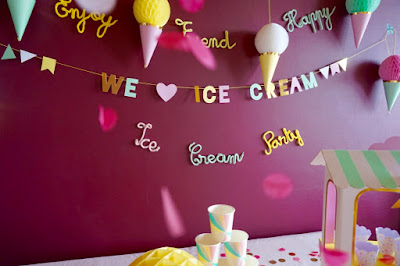 DIY ice cream party
