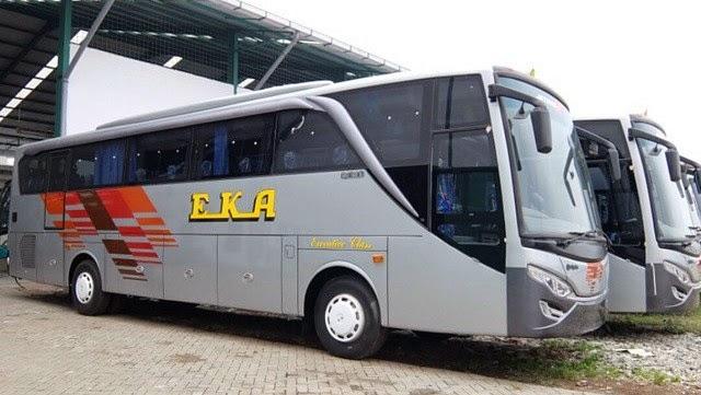 bus eka buka rute Surabaya-Purworejo