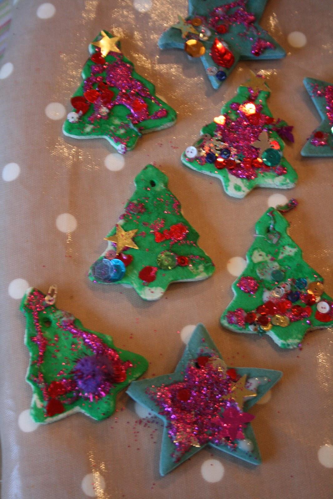 How to Make Salt Dough Recipe: Self-Portrait Ornaments ...