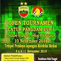 Open Tournamen Catur Pangdam Cup 1 Digelar 10 Nopember, Yuuk Gabung