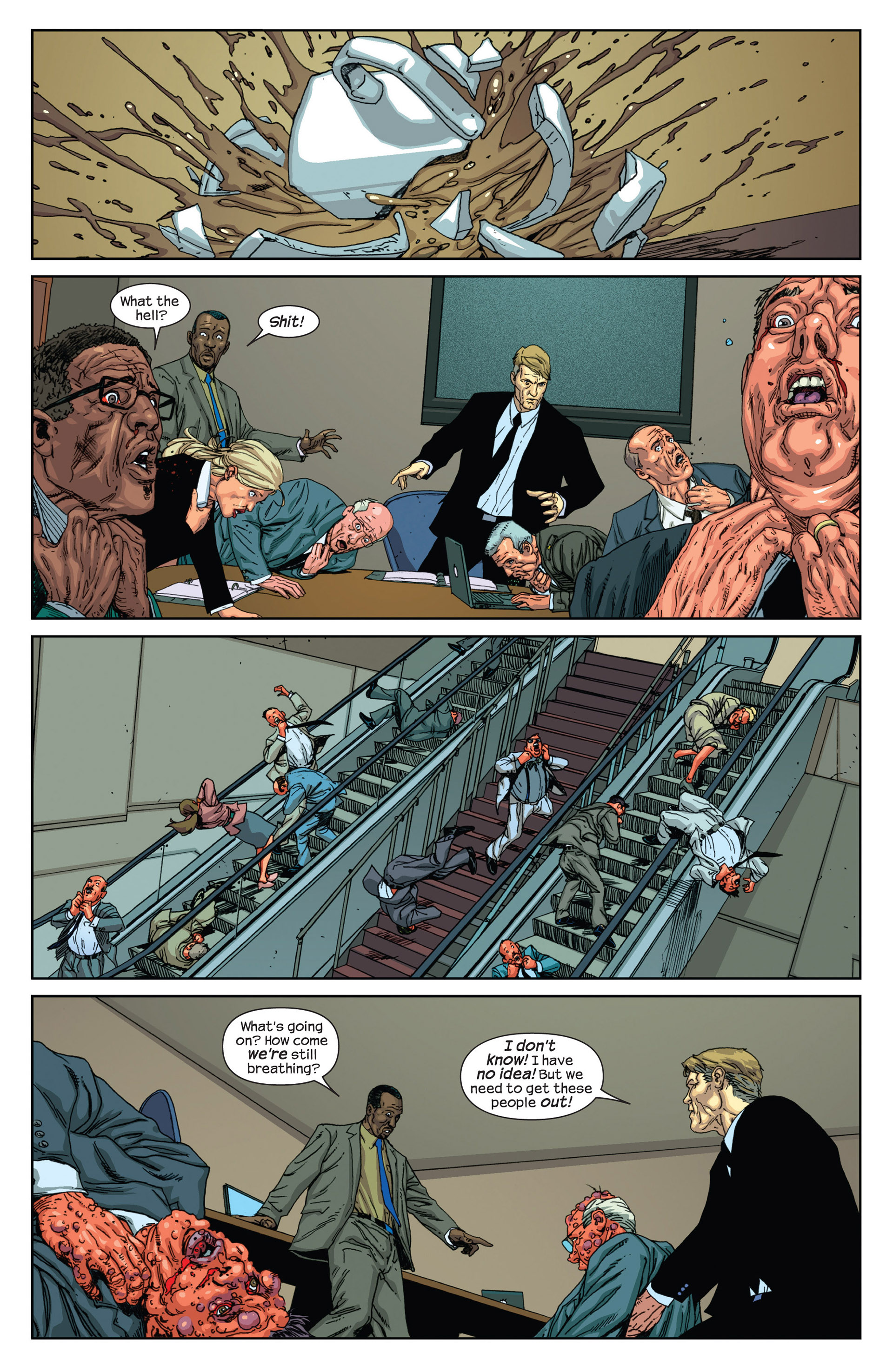 Read online Millar & McNiven's Nemesis comic -  Issue #2 - 12