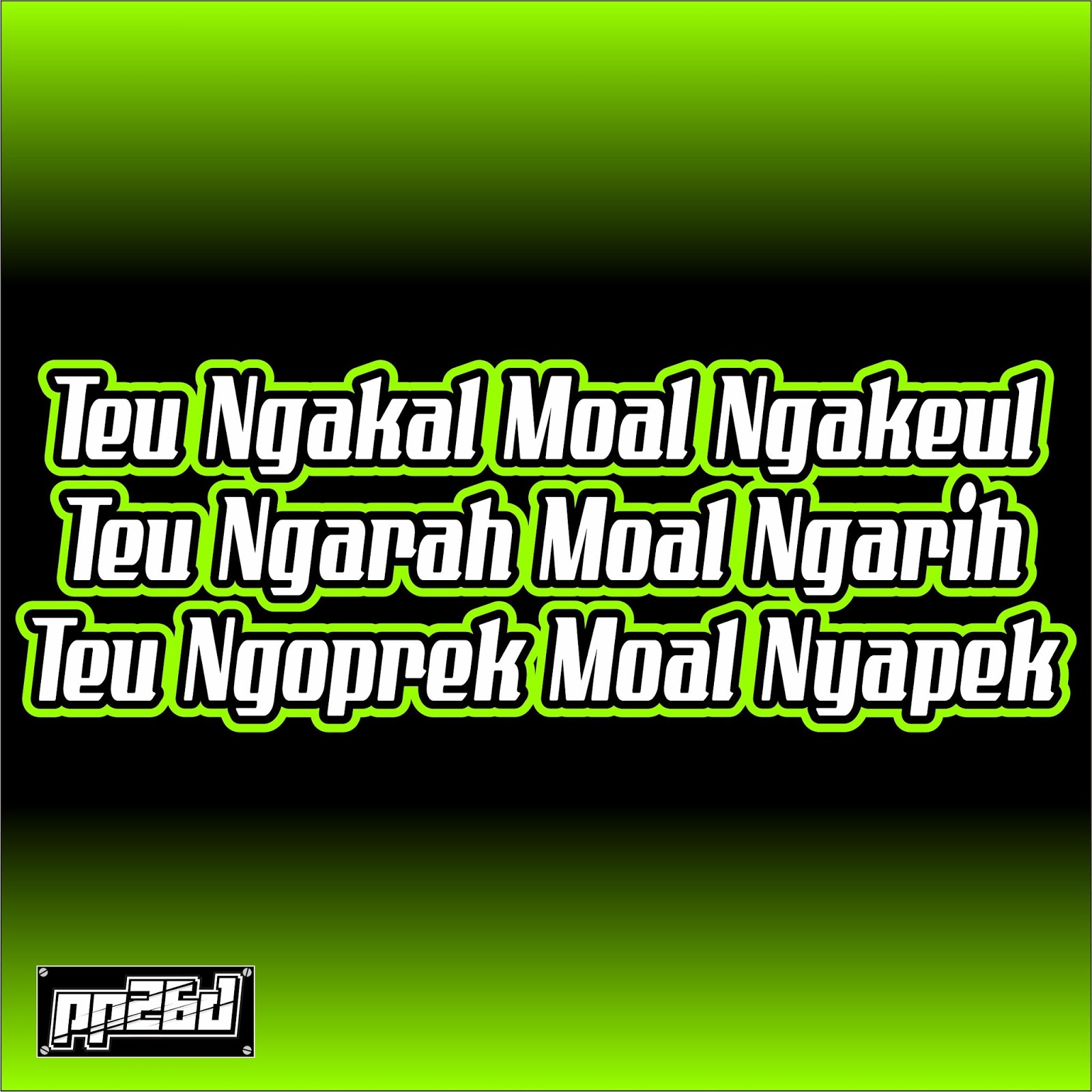 Kata Mutiara Bahasa Sunda Putra Perdana Designt