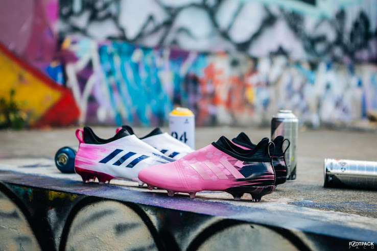 d1df0f531c15 Adidas today released two bold new colorways for its interchangeable Glitch  football boot. The latest Adidas Glitch soccer shoe collection is dubbed the  ...