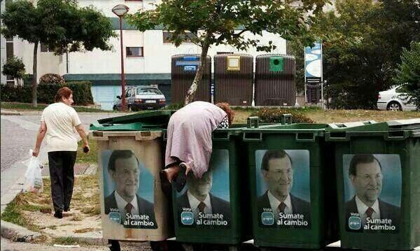El Partido Popular y los especuladores de la miseria