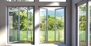 Harga kusen aluminium jendela pintu per meter lari, per batang, per m2, putih, minimalis, Alexindo, Superex, YKK, powder coating, rumah, kayu, kaca, di sidoarjo, semarang, malang, bandung, tegal, surabaya terbaru 2019.