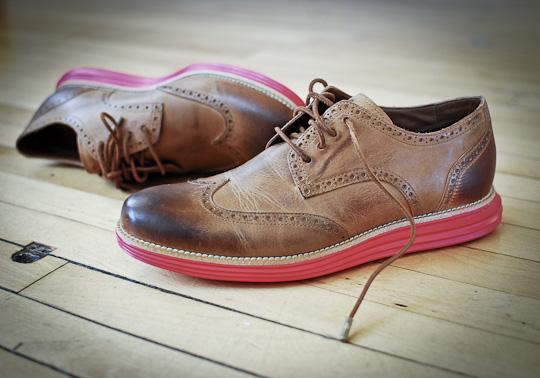 separation shoes fd794 6cc60 Cole Haan LunarGrand Leather Wingtip