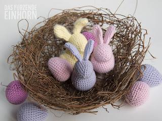 wzory szydełkowe na Wielkanoc