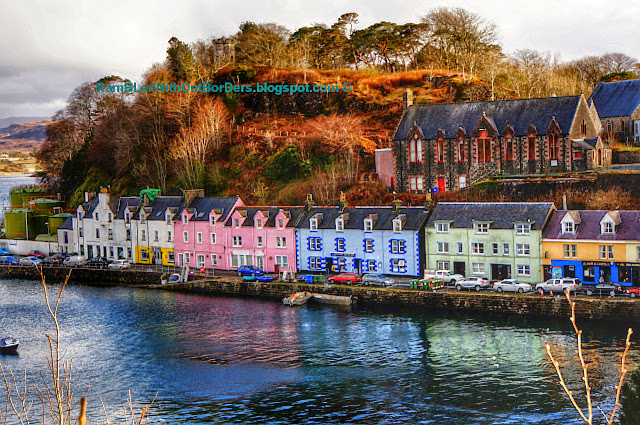 Portree, Scotland, UK