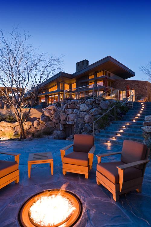 contemporary patio design las vegas