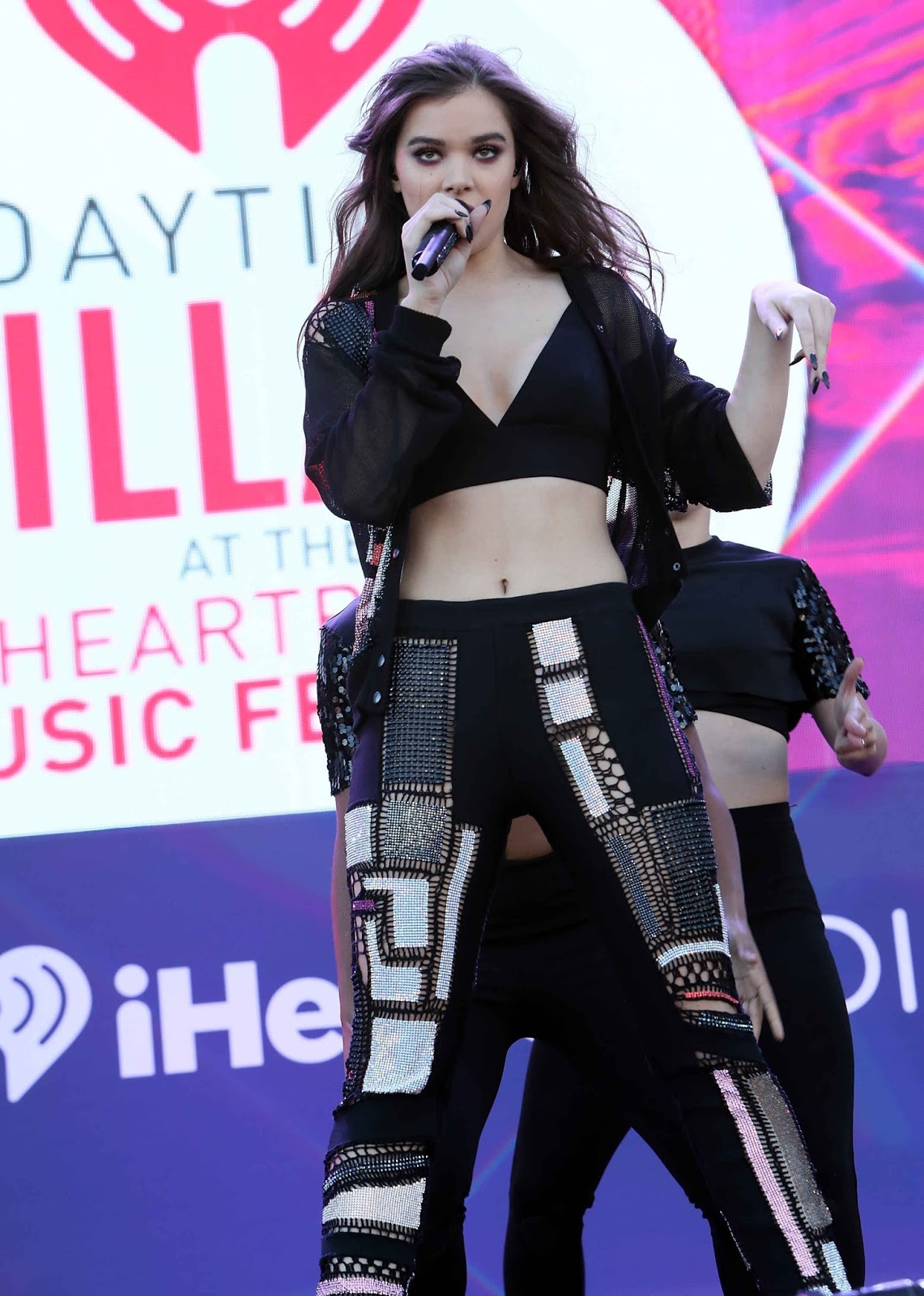 Hailee Steinfeld Performing at iHeartRadio Music Festival 2016