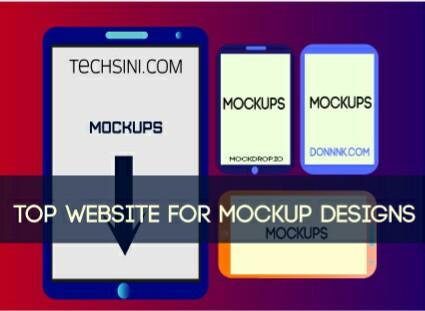 website for mockups design