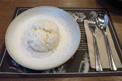Bangkok, Kub Kao' Kub Pla, rice