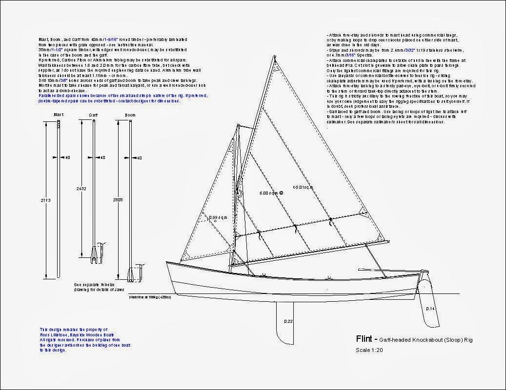 Ross Lillistone Wooden Boats Sailing Flint