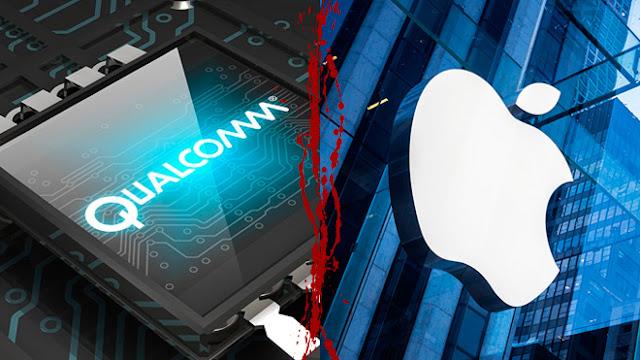 Apple Qualcomm batalla en China