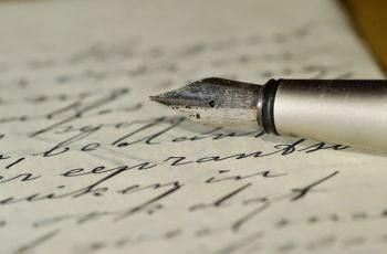 Handgeschrieben! Einer der letzten unleselichen, finnischen Liebesbriefe
