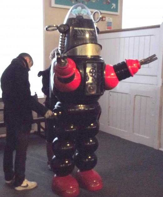 Robot taking over the world.