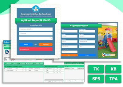 cara instal aplikasi dapodik paud dikmas tahun 2019/2020