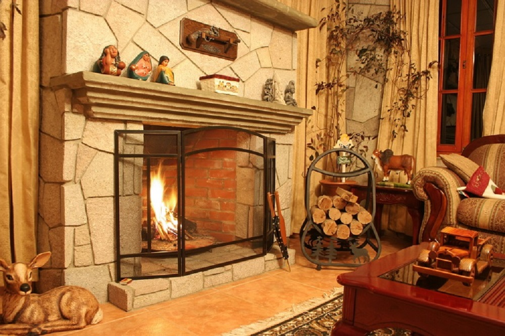 How To Build An Indoor Fireplace
