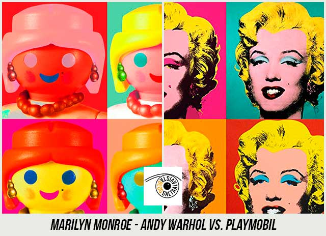 Pop-Art-Marilyn-Monroe-de-Andy-Warhol-Hecho-con-Playmobil