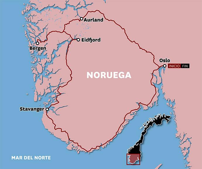 Hoja de Rutas - Blog de viajes: NORUEGA (junio 2011)