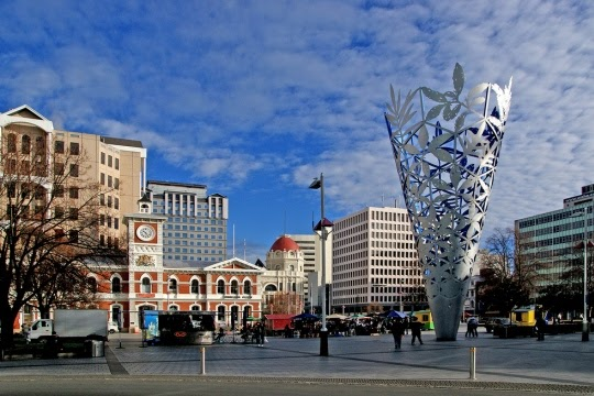 Cathedral Square,Christchurch