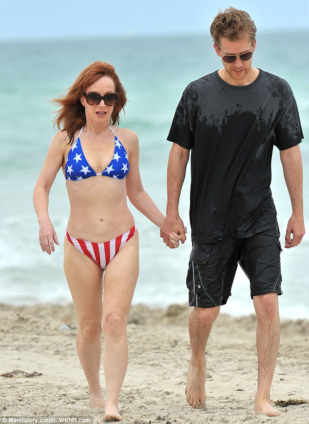Holly Celebrity Gossips: Love on the high seas! Kathy Griffin and her toyboy beau get frisky in ...