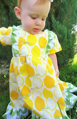 Bumblebee Dress Pattern