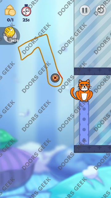 Hello Cats Level 44 Solution, Cheats, Walkthrough 3 Stars for Android and iOS