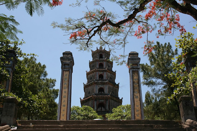 The Sacred Pagodas in Hue