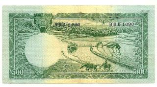 500 Macan Seri Hewan 1957 Belakang