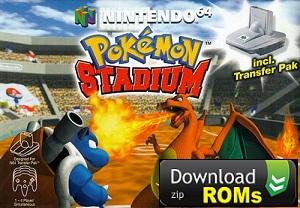 Game Pokémon Stadium Rom N64 [U] Mega Download ( zip