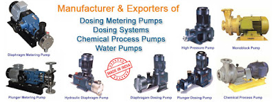 Find Metering and Dosing Pump Manufacturers in India