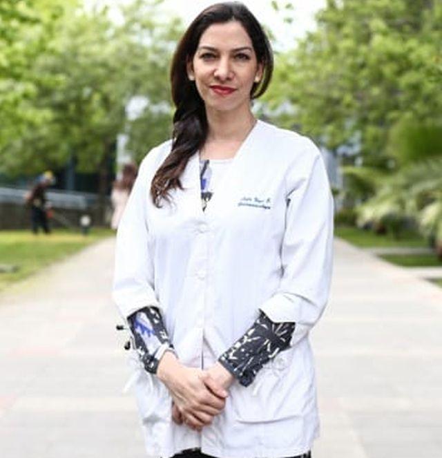 Doctora Leyla Nazal, presidenta de la ACHHEP