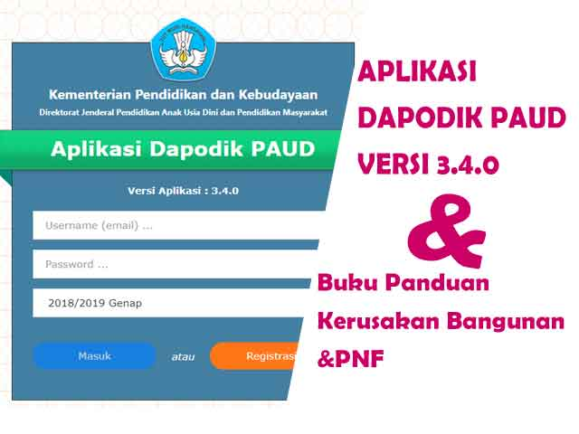 download aplikasi dapodik paud 3.4.0