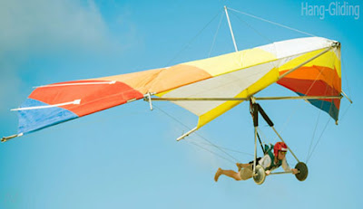 Hang-gliding sport