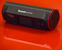 Creative Sound Blaster FRee Splash Proof Portable Bluetooth Speaker, Built-In MP3 Player for Rs.3750 Only @ Amazon