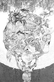 art of, katsuhiro otomo, akira, manga, action comics, animés, mangas
