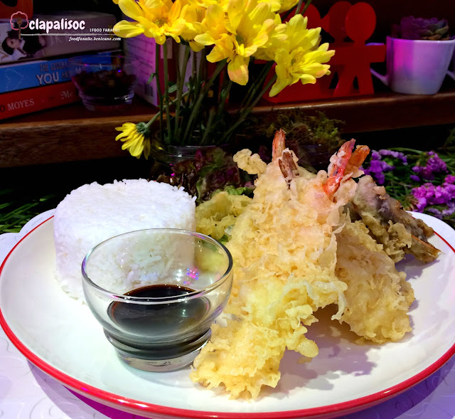 Tempura Rice Meal from Book and Borders Cafe