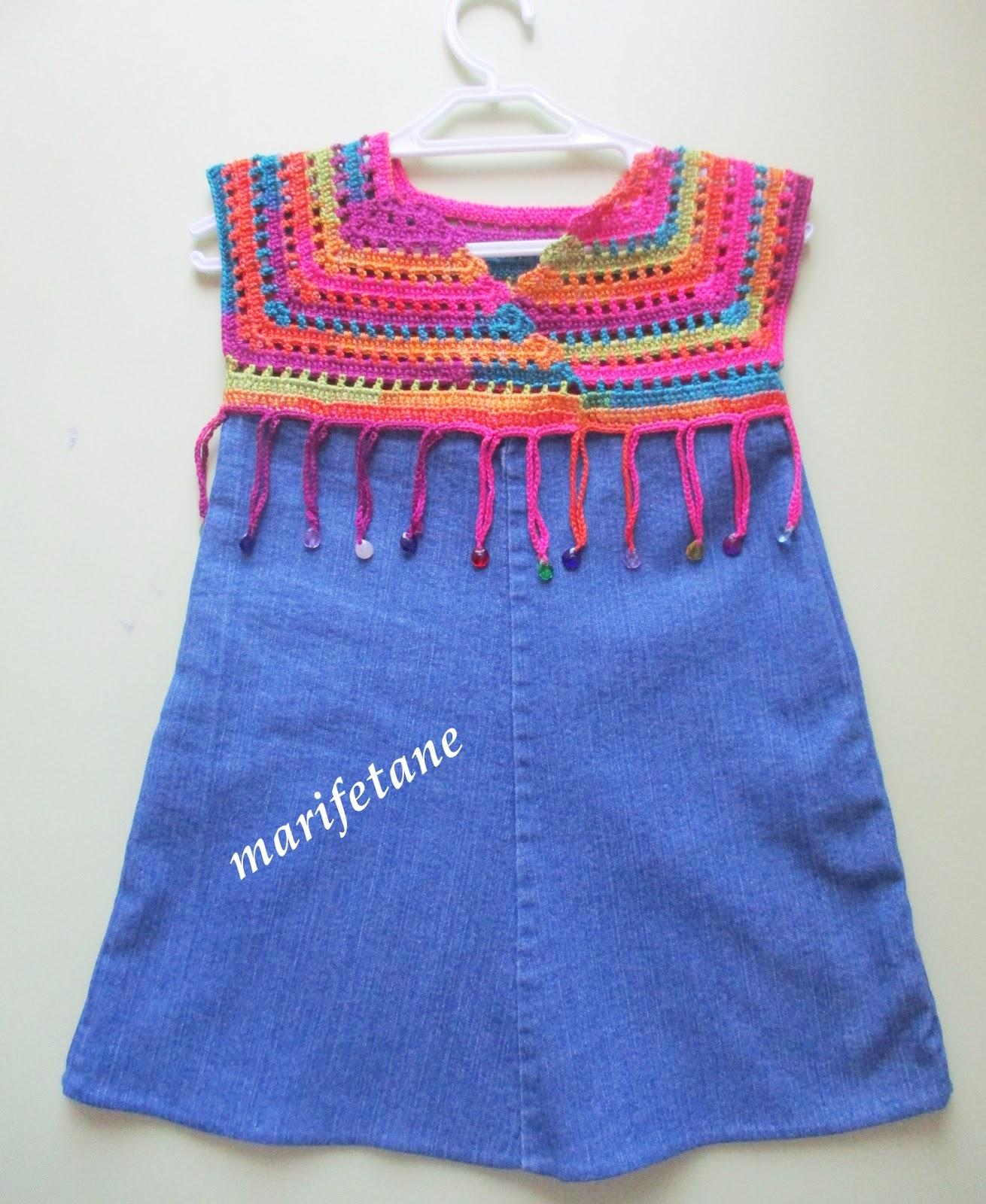 2013 Yeni Tığ İşi Elbise Modelleri