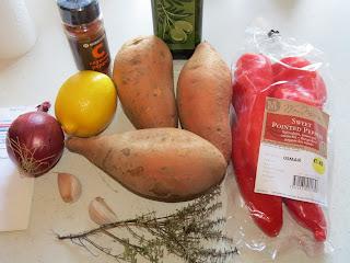 Sweet Potato & Red Pepper Soup