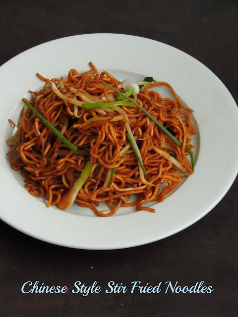 Chinese Stir fried noodles, Sitr fried noodles
